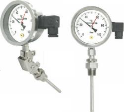 Манометрический термометр SHE
