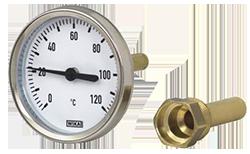 Модель A46 - Термометр для отопительной техники