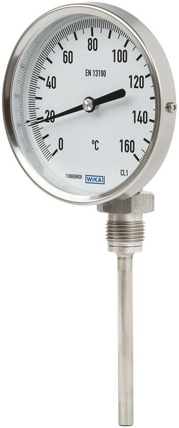 Модель R52 - Термометр промышленного исполнения (радиальный)