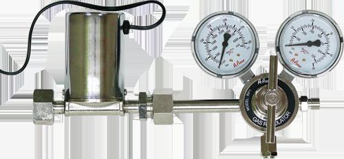 Фотография нагревателя с манометром