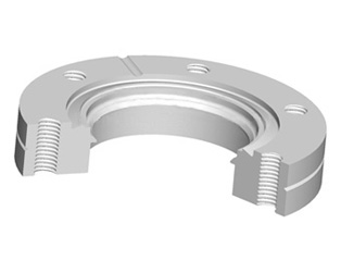 CF Bored Flange(Nonrotatable-Tapped Bolt Holes)