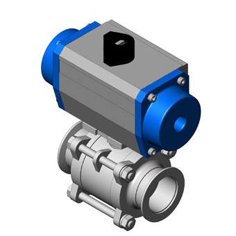 Ball Valve - Pneumatic Actuated